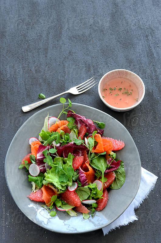Fresh crisp green salad by Jill Chen for Stocksy United