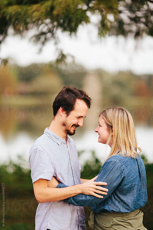 Couple Laughing Really Hard by B. Harvey for Stocksy United