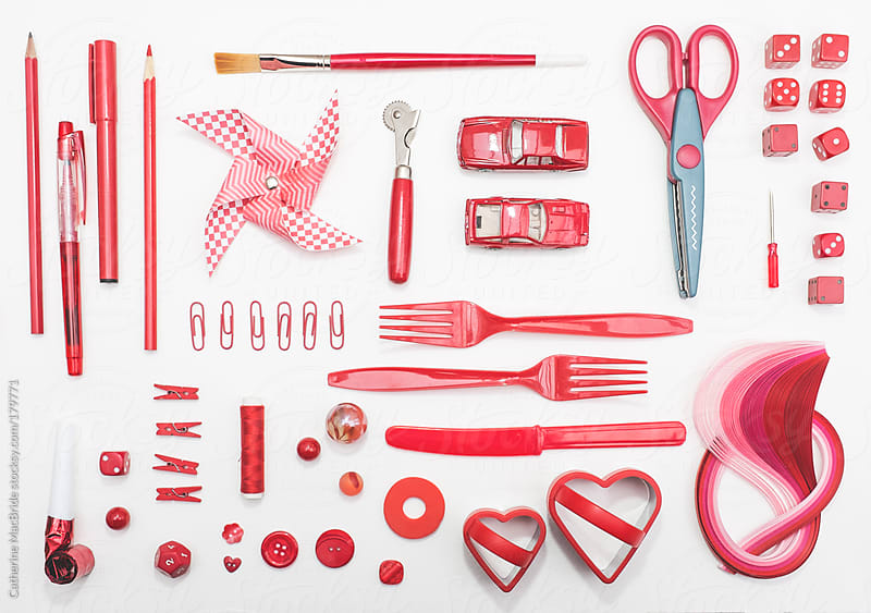Seeing Red by Catherine MacBride for Stocksy United