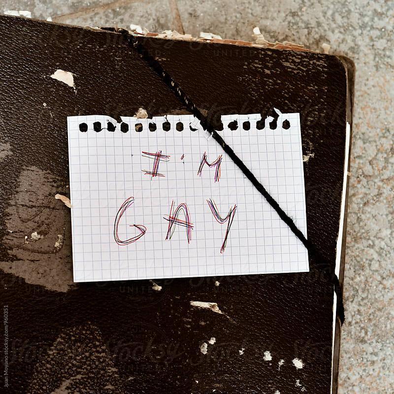 i'm gay by juan moyano for Stocksy United