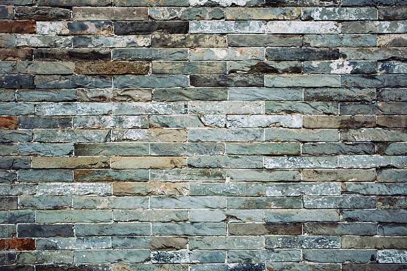 Brick wall by zheng long for Stocksy United