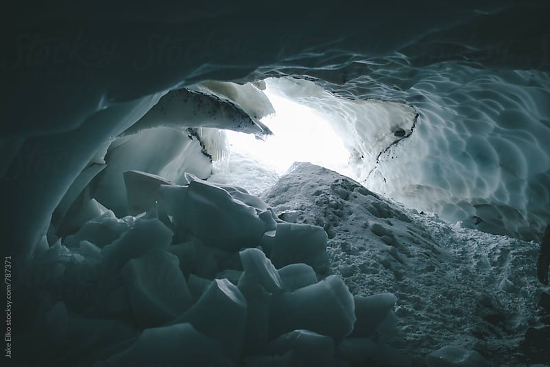 Ice Cave by Jake Elko for Stocksy United