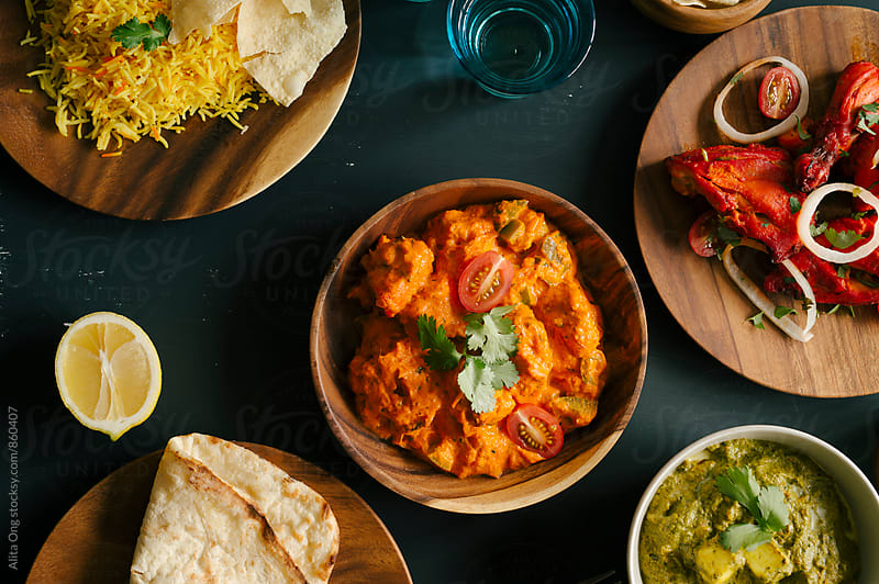 Indian food by Alita Ong for Stocksy United