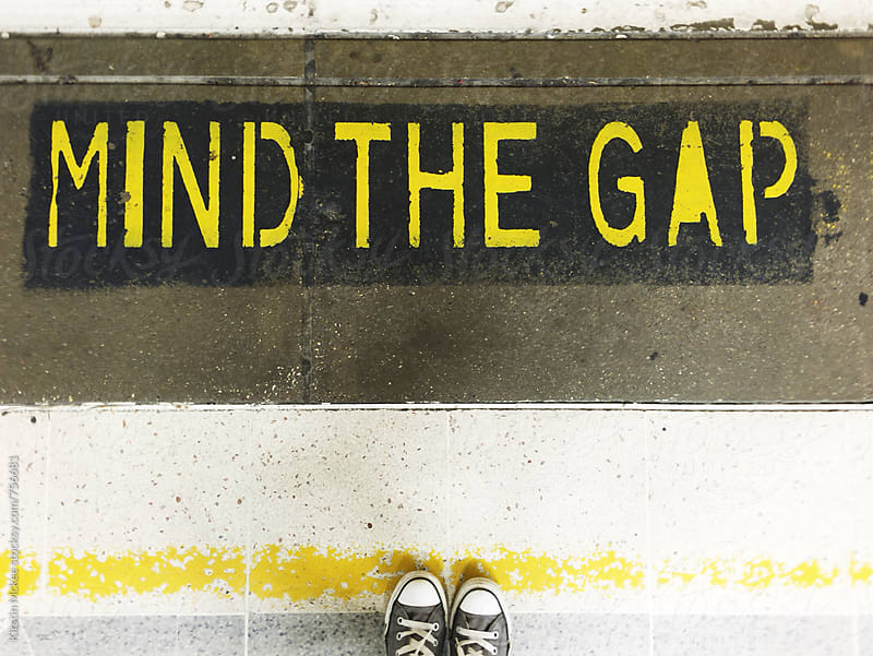 Mind the Gap by Kirstin Mckee for Stocksy United