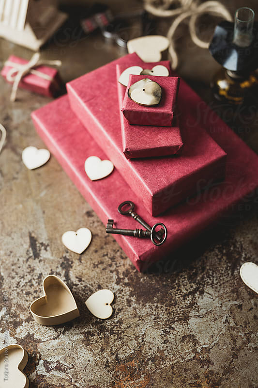 Decoration for Valentine's Day by Tatjana Zlatkovic for Stocksy United