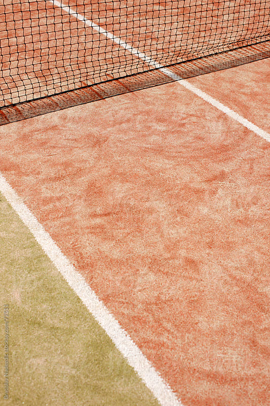 Tennis court detail by Bratislav Nadezdic for Stocksy United