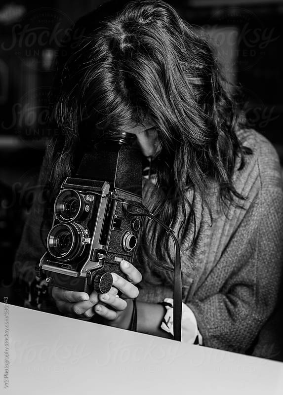 Using a vintage analog camera by W2 Photography for Stocksy United