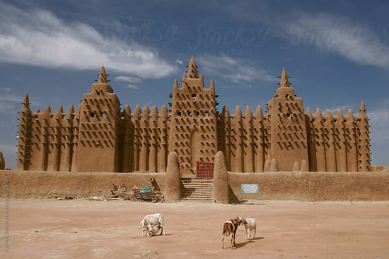 Great Mosque of Djenné by Ferenc Boros for Stocksy United