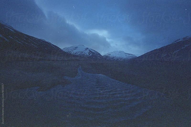 Heavy Wind In Iceland  by Dustin Adams for Stocksy United
