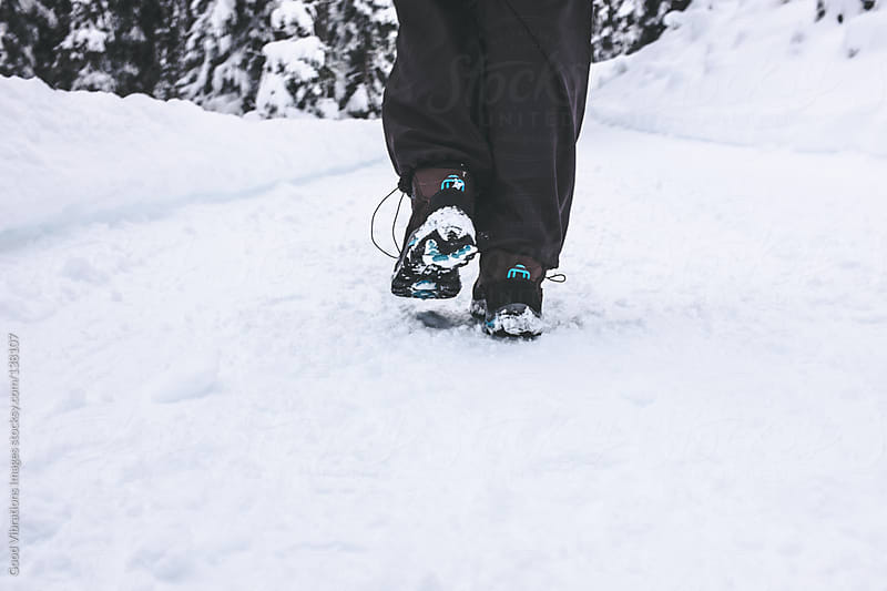 Walking on the Snow by Good Vibrations Images for Stocksy United