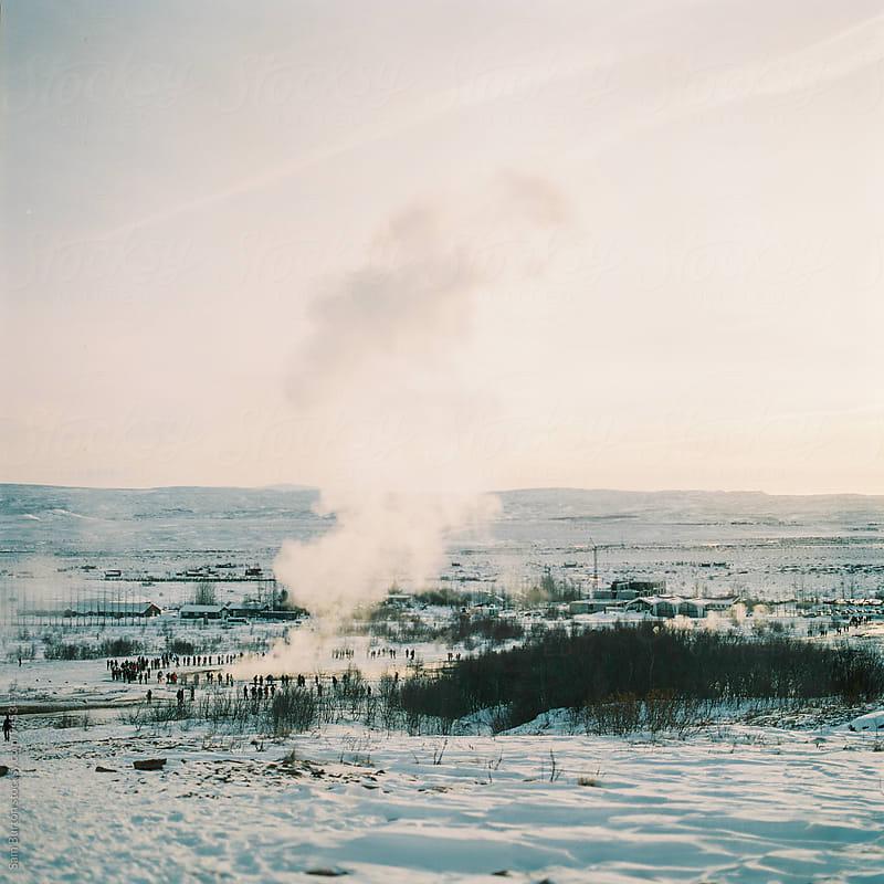 Geysirs in Iceland by Sam Burton for Stocksy United