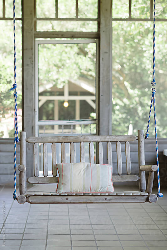 Bench swing by Preappy for Stocksy United