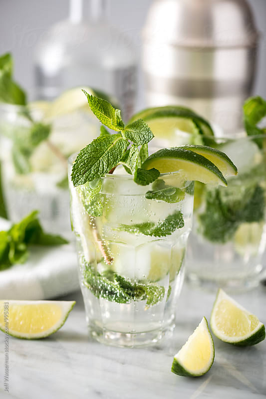 Mojito Cocktails by Jeff Wasserman for Stocksy United