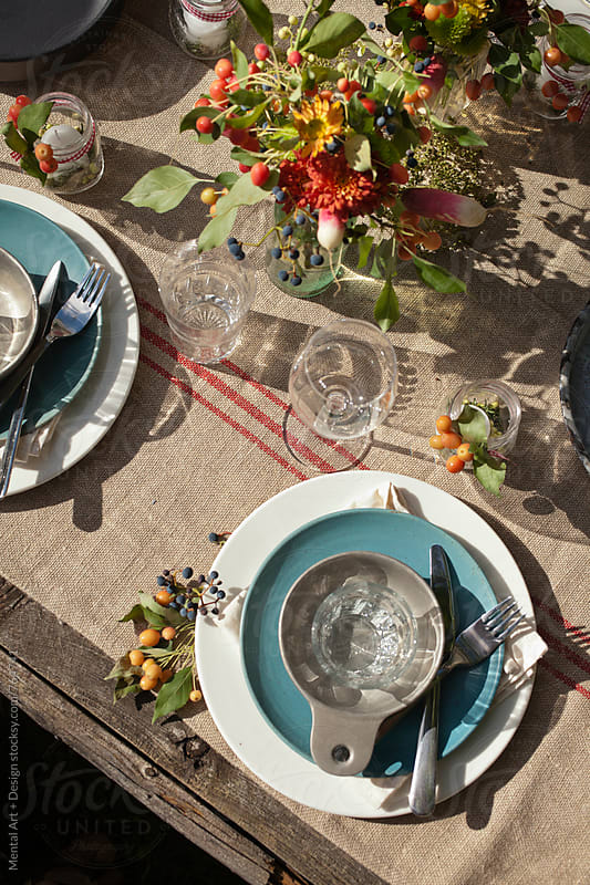 Thanksgiving Feast by Mental Art + Design for Stocksy United