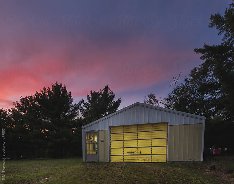 Country Garage by Brian Koprowski for Stocksy United