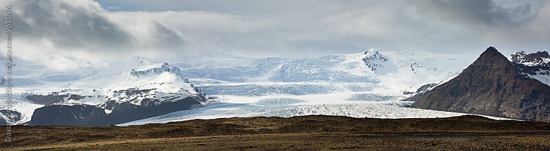 iceland scenic landscape glacier by Daxiao Productions for Stocksy United