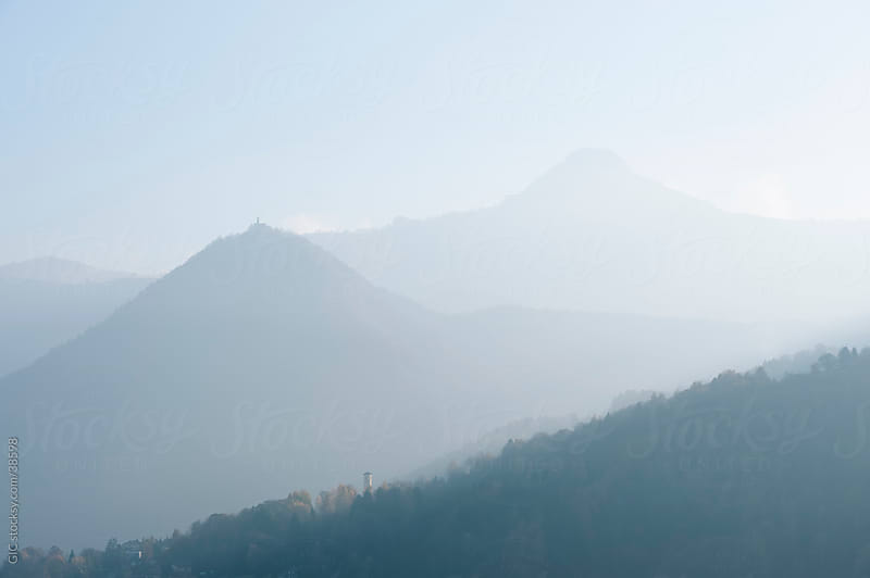 Soft morning light in the mountain by GIC for Stocksy United
