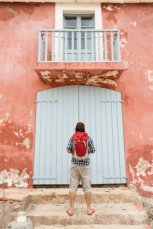 Knock Knock by Aila Images for Stocksy United