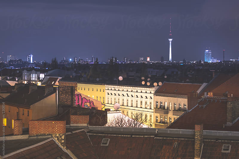 Roofs of Berlin by michela ravasio for Stocksy United