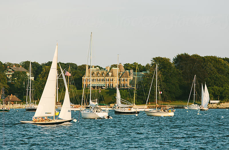 Newport, Rhode Island Harbor by Raymond Forbes LLC for Stocksy United