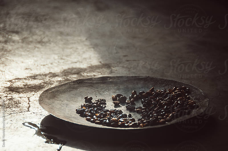 Roasted ethiopian coffee by David Navais for Stocksy United