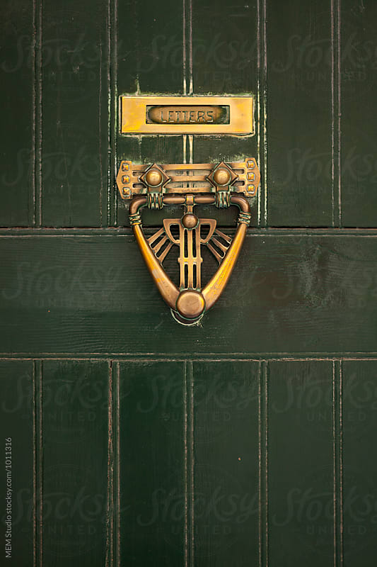 Old door knob in the city of Valletta by MEM Studio for Stocksy United