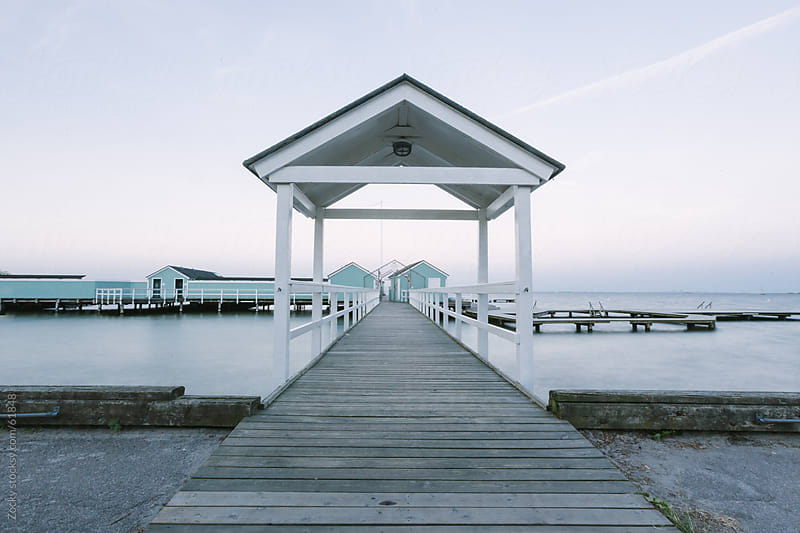 Scandinavian pier by Zocky for Stocksy United
