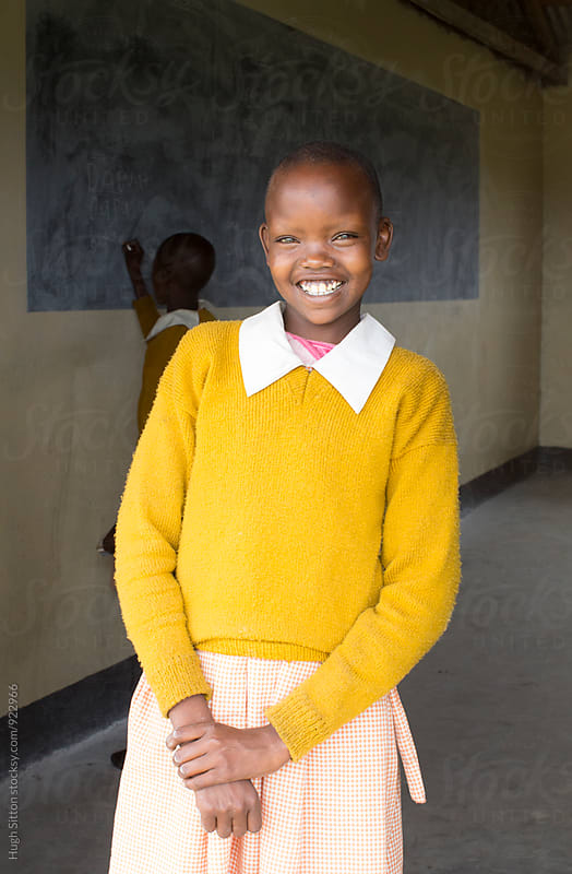 Primary School. Kenya. by Hugh Sitton for Stocksy United