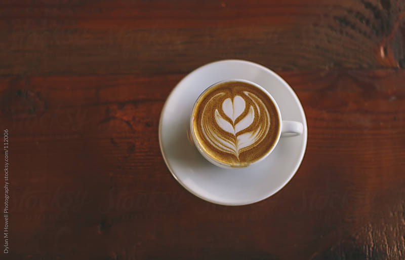 Stock photo of a coffee drink. by Dylan M Howell Photography for Stocksy United