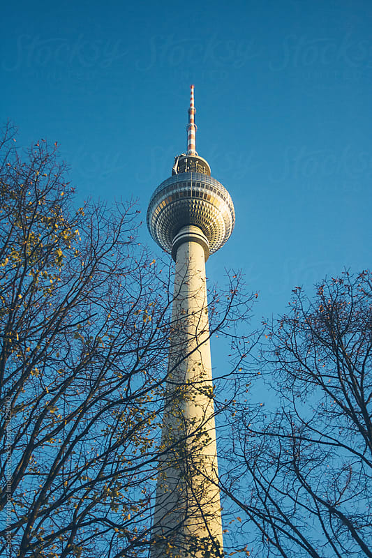 TV Tower in Alexanderplatz, Berlin by Good Vibrations Images for Stocksy United