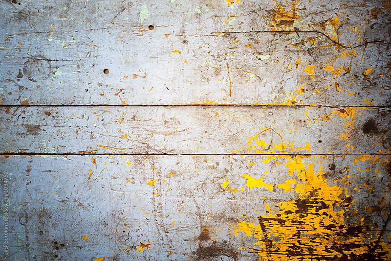 Old Painted Wood Table by Jack Sorokin for Stocksy United