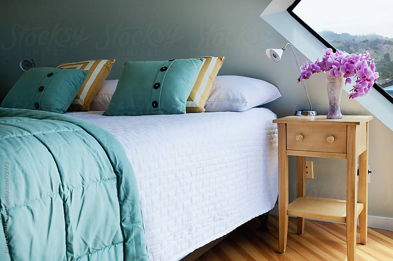 bedroom by Tanya Constantine for Stocksy United