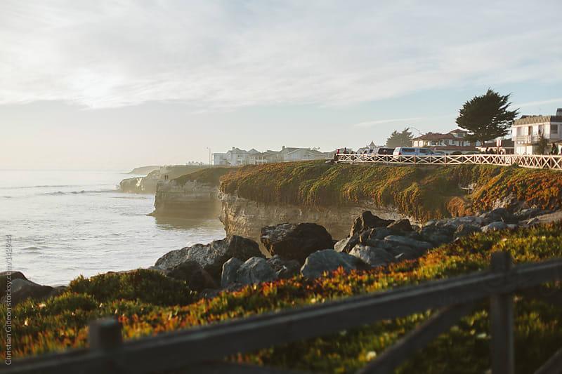 Santa Cruz Cliffs by Christian Gideon for Stocksy United