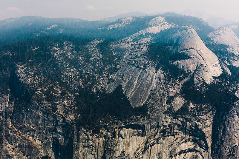 View from Glacier Point Yosemite by Image Supply Co for Stocksy United