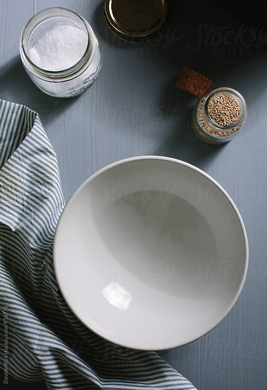 Empty plate setting by Davide Illini for Stocksy United