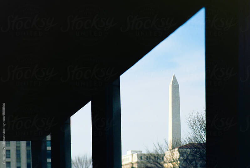 Washington Monument in Abstract by Cameron Whitman for Stocksy United
