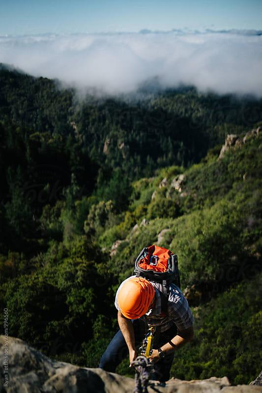 Castle Rock Climbing by Ryan Tuttle for Stocksy United