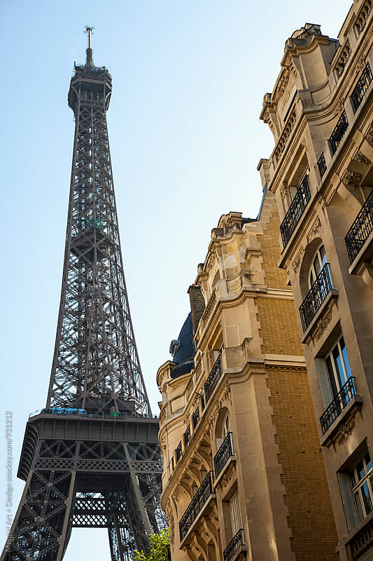 Eiffel Tower  by Mental Art + Design for Stocksy United