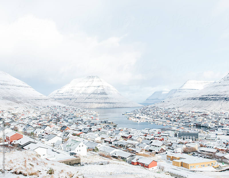 Klaksvik, Faroe Islands by Kevin Faingnaert for Stocksy United