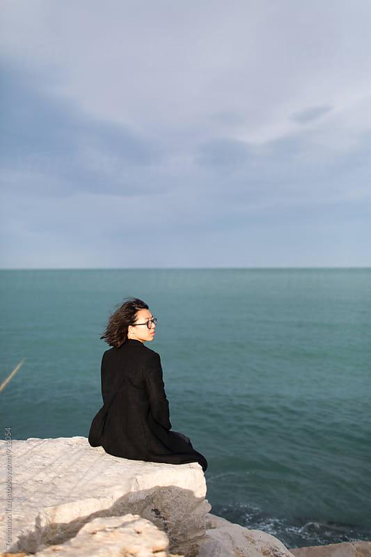 Taiwanese Girl Portrait by Tommaso Tuzj for Stocksy United