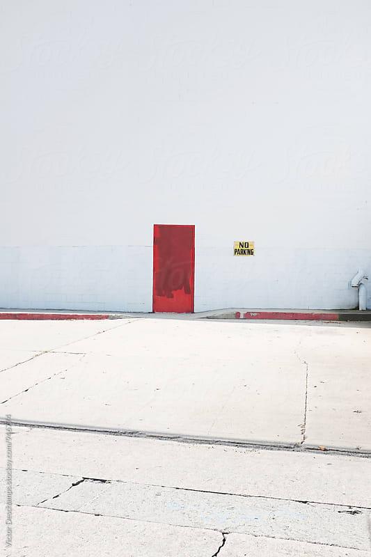 Back Door Area by Victor Deschamps for Stocksy United