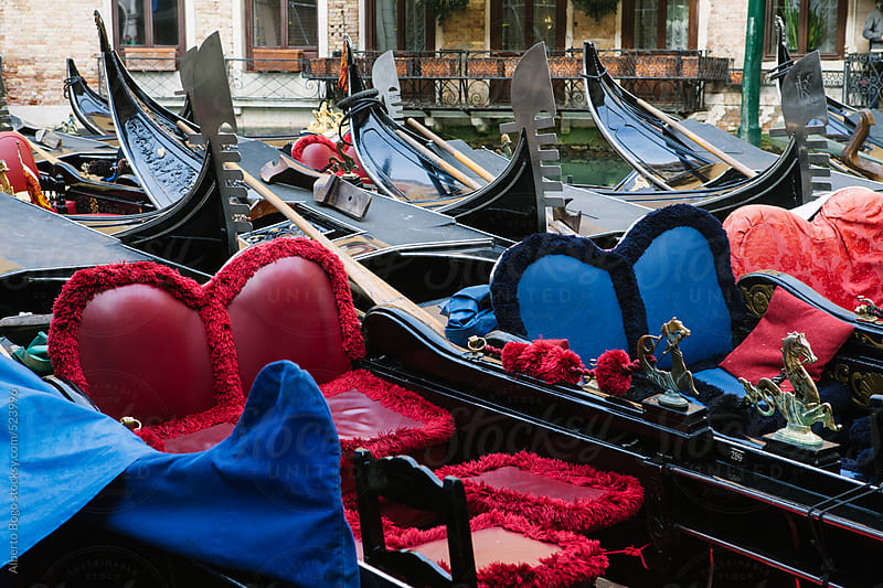Gondola in Venice, Italy. by Alberto Bogo for Stocksy United