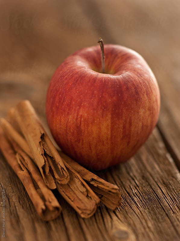 Apple and Cinnamon by Daniel Hurst for Stocksy United