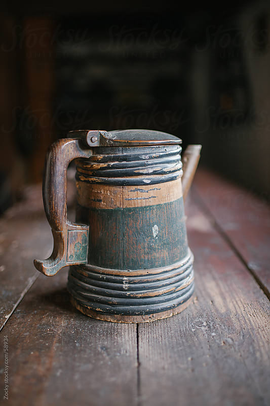 Wooden mug by Zocky for Stocksy United