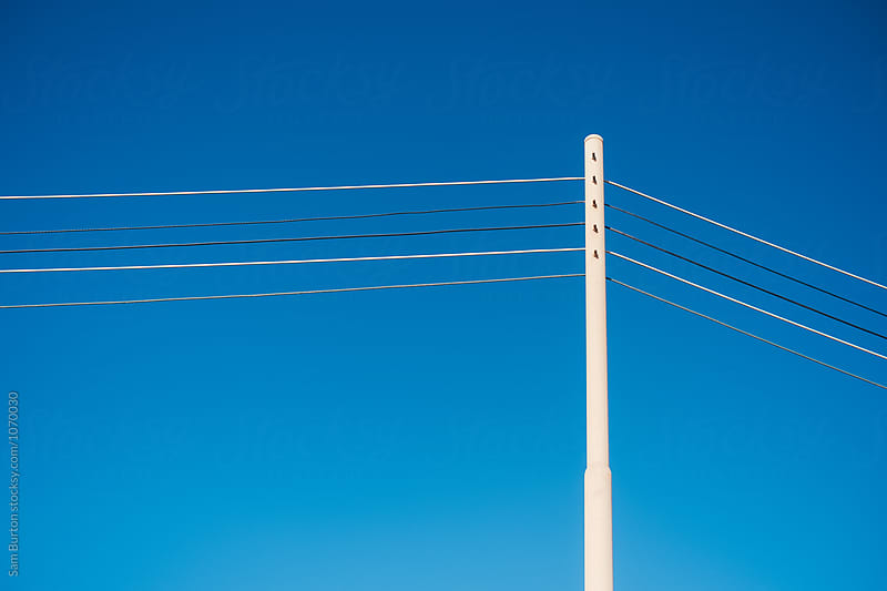 Telephone lines by Sam Burton for Stocksy United