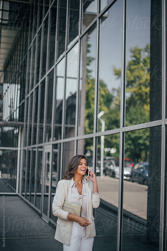 Series of a business woman in the city. by Studio Firma for Stocksy United
