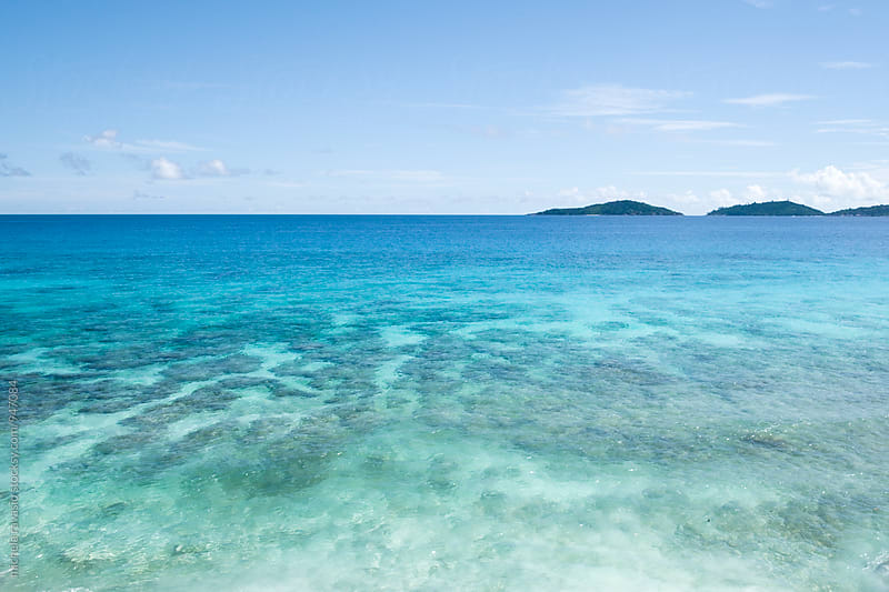 View of a crystal clear sea by michela ravasio for Stocksy United