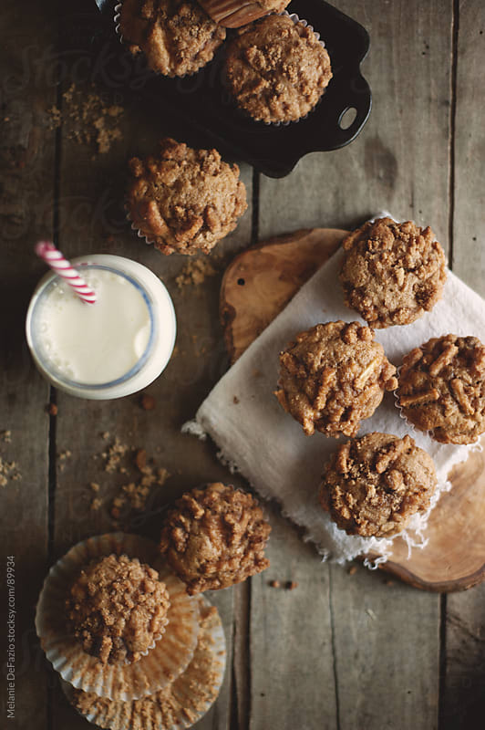Apple Spice Muffins by Melanie DeFazio for Stocksy United