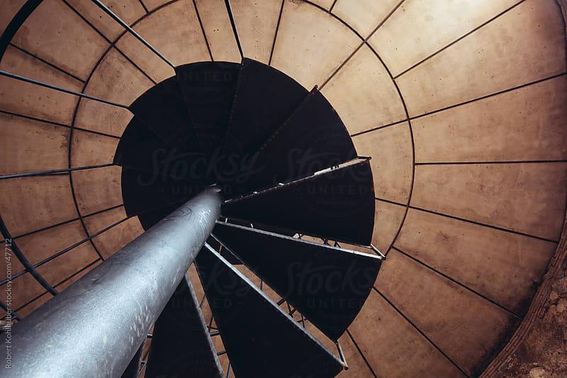 Spiral staircase by Robert Kohlhuber for Stocksy United