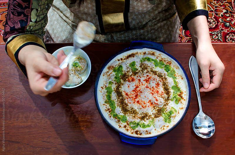Dahi Bhalla a Spicy Pakistani Food ! by Agha Waseem Ahmed for Stocksy United